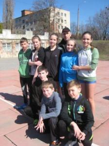 Збірна школи з легкої атлетики